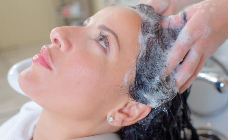 Woman in a salon