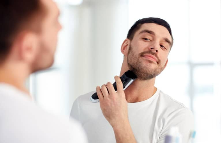 How To Get Rid Of Chest Acne Caused By Shaving Your Face