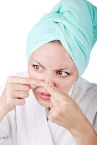 Nose-acne