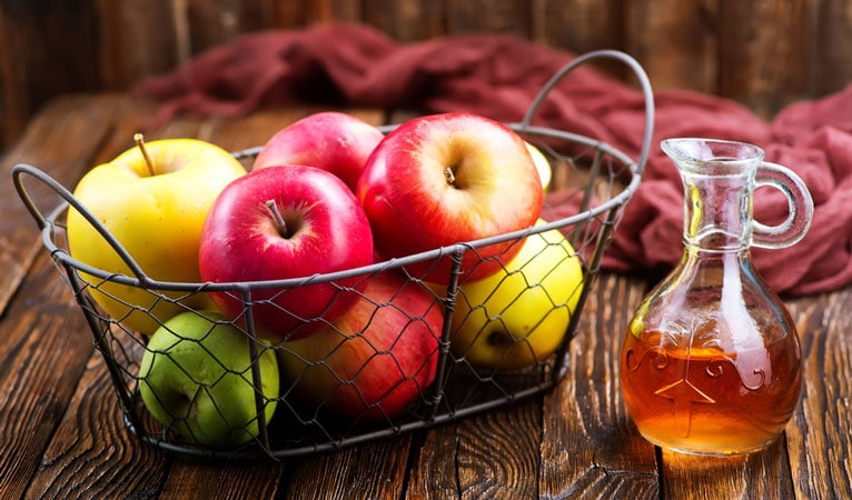 apple cider vinegar for eczema and allergies