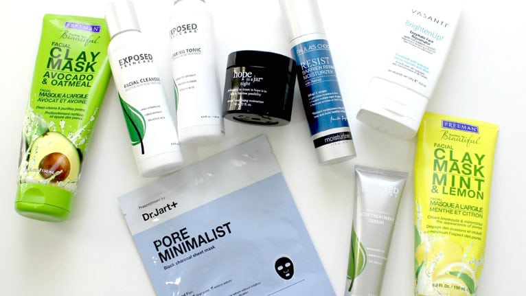 choosing the best acne products