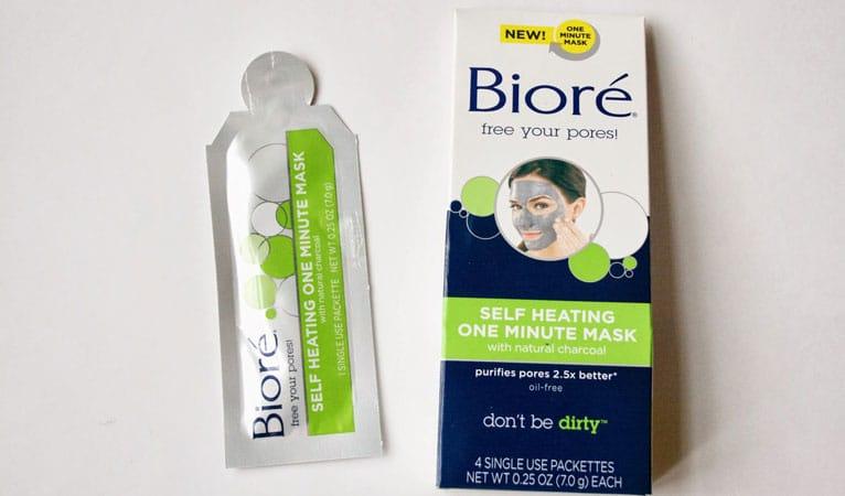 biore self heating mask