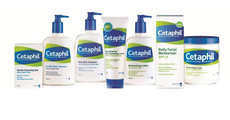 Cetaphil acne cleansers