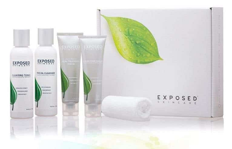If you're looking for long-term skincare that will keep your acne at bay for more than a few hours or days, you probably want to try a full acne treatment system, like Exposed Skincare.