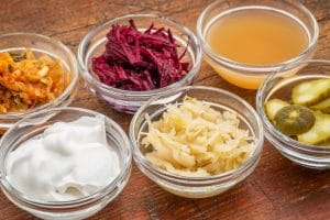 food rich in probiotics for acne