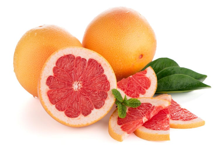 Grapefruit for acne