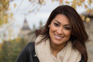 latino woman prone to cystic acne