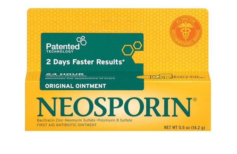 Neosporin for acne