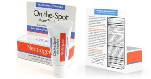 Neutrogena one spot acne treatment