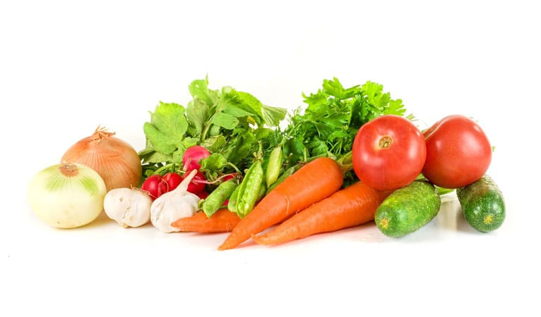 Raw vegetables reduces teen acne