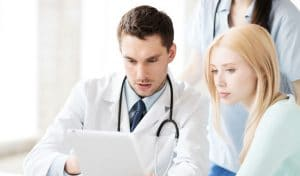 Consulting a Dermatologist