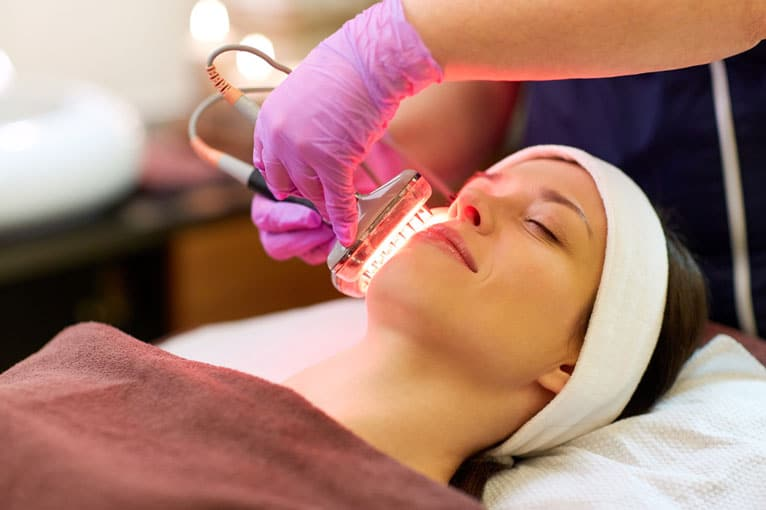Red Light Therapy for Acne and Hair Loss