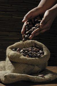 Skip the milk chocolate. Go pure, dark chocolate or cocoa.