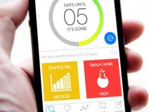 Can an app help you figure out your skin? Image via Indigogo