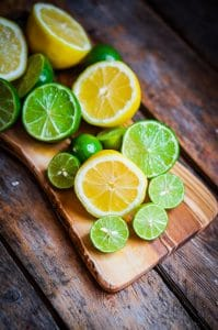 Both lemon peel oil and citrus extracts can be troublesome for skin.
