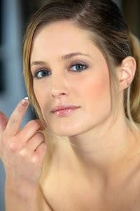 Dab-a-does-it... Use sparingly and only to affected areas until your skin adjusts to it.