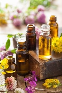 Lemon and lime oils, menthol or mint and green tea extract should be avoided.