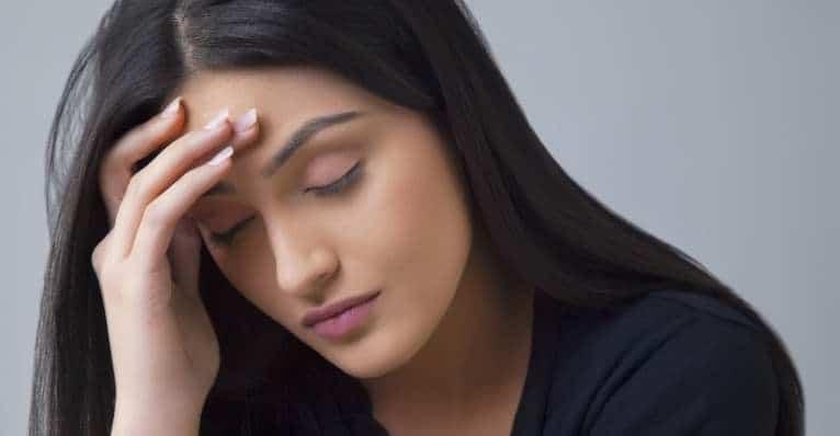Menstrual acne