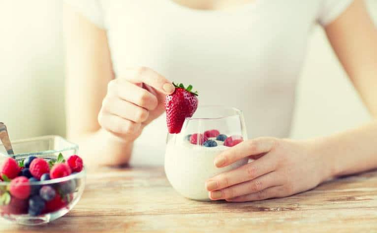 can yogurt give you acne