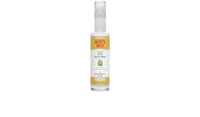 Burt's Bees moisturizing lotion