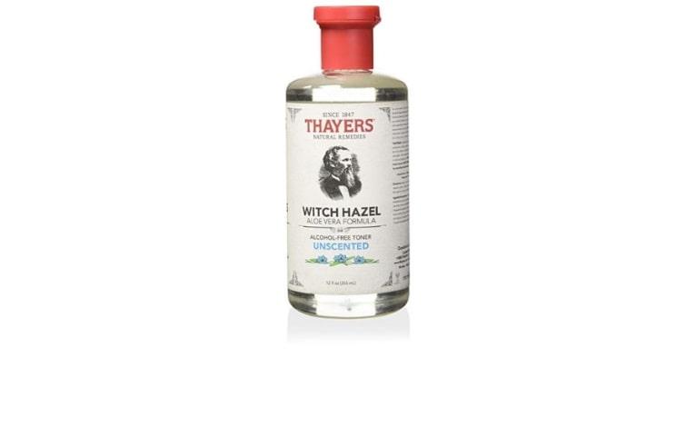Bottle of Thayer's toner